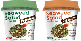 Seaweed Salad on the Go -Premium-