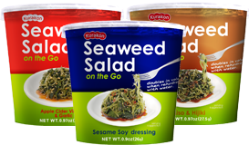 Seaweed Salad on the Go